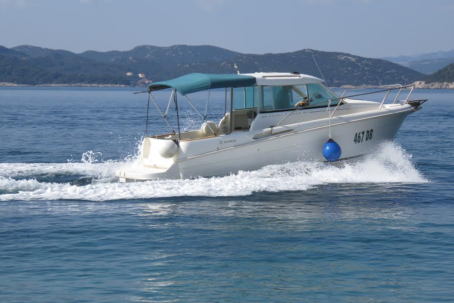 Rent speedboat on Lopud