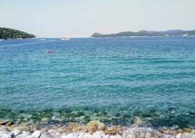 Clean Lopud sea
