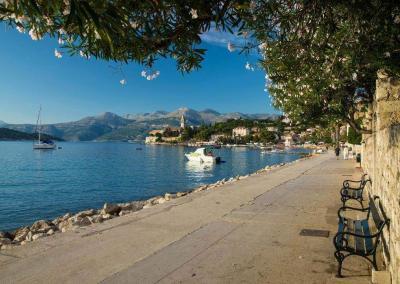 Lopud Bay Promenade
