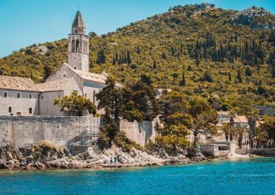 Lopud Island Franciscian Monestary