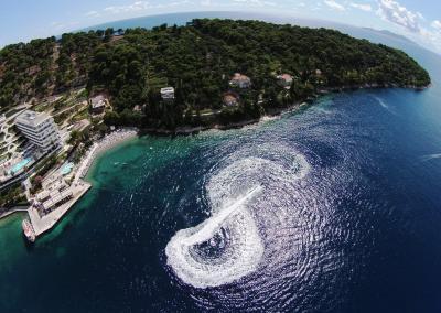 Rent a jet ski and explore Lopud bay