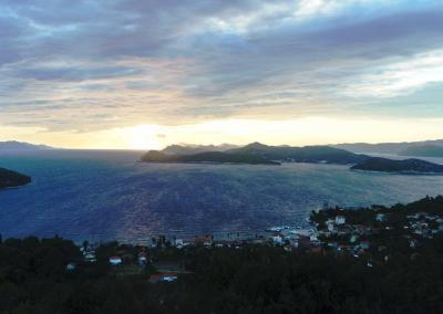Sunset view from St. John's chapel