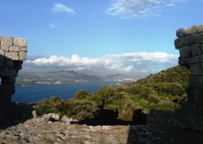 The view from Fortress Sutvrač on Dubrovnik Gruz harbour