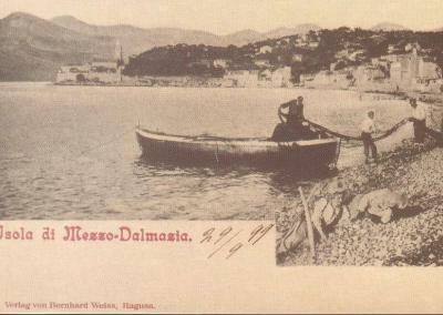 Old Lopud Postcard